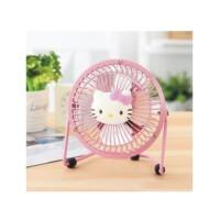 日照鑫  Hello Kitty 桌面风扇 铁艺KT卡通USB风扇 小风扇 迷你风扇 一个装