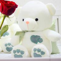 正版泰迪熊猫抱抱熊睡觉抱公仔玩偶毛绒玩具布娃娃送女生生日礼物