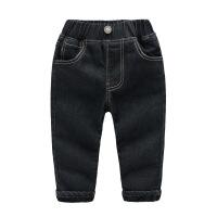 童装男童牛仔裤长裤儿童裤子冬季新款韩版加绒保暖宝宝休闲裤