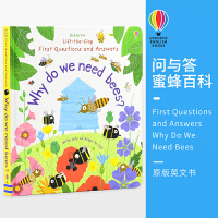 Usborne原版英文Questions and Answers Why Do We Need Bees 问与答尤斯伯