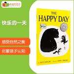 凯迪克 凯迪克银奖作品 The Happy Day 快乐的一天平装英文原版绘本3-9岁童话幻想
