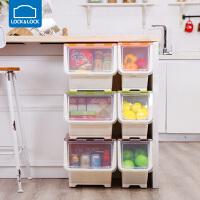 叠式储物箱收纳箱整理箱塑料零食玩具大 INP98456