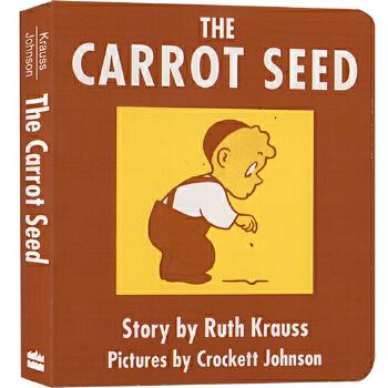 《英文原版 胡萝卜种子 The Carrot Seed 纸板书