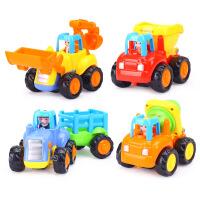 汇乐326工程车儿童小汽车惯性宝宝挖掘机玩具车模型男孩套装玩具 汇乐326工程车