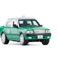 JK 仿真1:32金属丰田皇冠香港出租车TAXI小汽车模型玩具