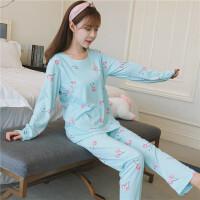 韩版月子服春秋季薄款产后哺乳衣套装孕妇睡衣外出产妇喂奶衣