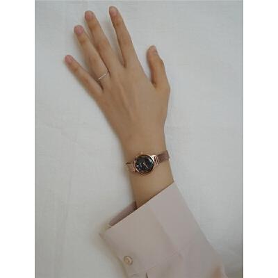 手表女学生小表盘简约复古冷淡风文艺手表女 手表