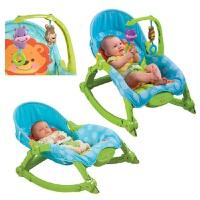 玩具开学季费雪 Fisher-Price 新生儿安抚玩具 安抚互动多功能轻便摇椅