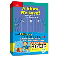 有声读物】美国加州少儿英语分级阅读2 幼儿英语启蒙教材全16册 3-6岁英语单词句子入门自然拼接书籍 小学生分级阅读英