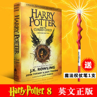 现货 哈利波特8 英文原版Harry Potter and the Cursed Child 哈利波特与被诅咒的孩子(