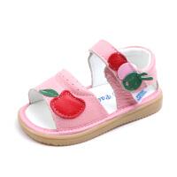 小童凉鞋女童鞋子公主鞋软底夏季2-3-4岁宝宝凉鞋婴儿凉鞋子