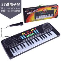 61键麦克风话筒电子琴 多功能音乐教学琴电钢琴 儿童乐器玩具钢琴