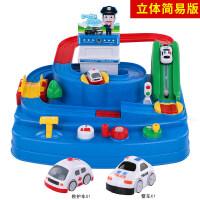 托马斯轨道车汽车闯关大冒险儿童玩具3-6岁男孩 大礼盒包装+起重机+吊桥+传送带楼梯