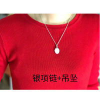六一儿童节520原创设计可放照片的项链小物件吊坠S925纯银情侣男女相盒照片刻字母亲节