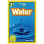 英文原版绘本 National Geographic Kids Level3:Water 国家地理分级阅读初阶 儿童英