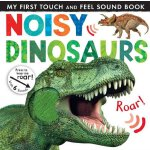 英文原版 儿童触摸发声书 Noisy Touch-and-Feel Books Noisy Dinosaurs