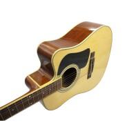 支持货到付款 Jackson 电箱木吉他 缺角吉他 民谣吉他 电箱琴 电箱吉他 演出伴奏 民谣吉他 插电吉他 D-10