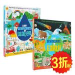 英文原版 The Adventures of Earth water 了不起的历险 全2册合售 地球历险记 水的历险记