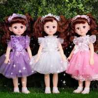 尚美比芭比会说话的智能洋娃娃套装仿真精致女孩儿童公主玩具单个
