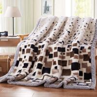 【领券立减100】拉舍尔毛毯加厚双层 冬季盖毯珊瑚绒毯子单人双人 婚庆毛毯子1.5米/1.8m/2米/2.2米