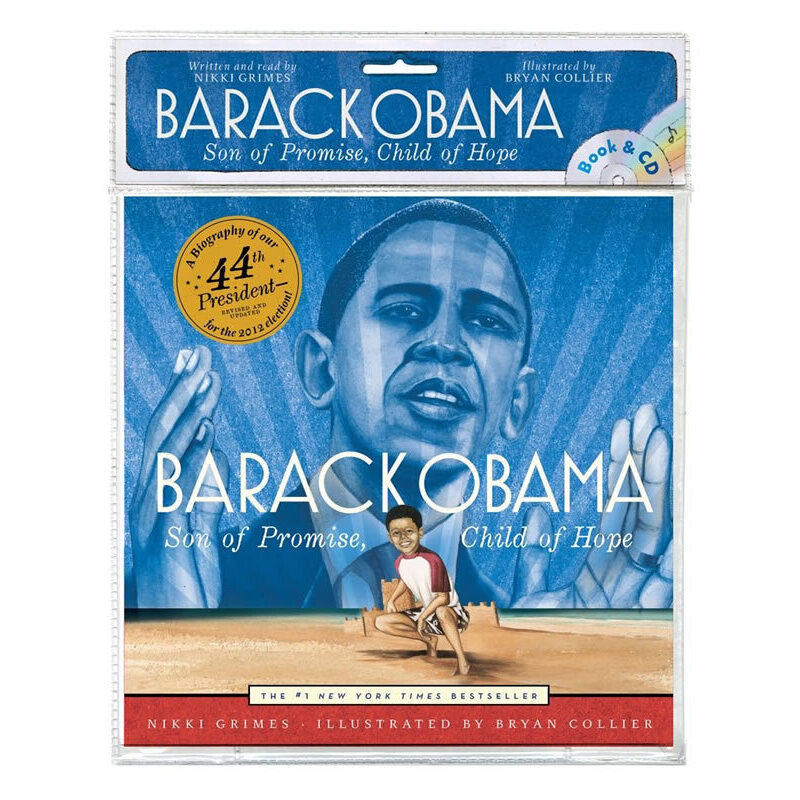 Barack Obama(Book+CD)奥巴马ISBN9781442450776