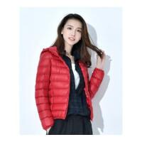反季大码羽绒服女士短款学生韩版可爱修身轻薄款宽松学生外套