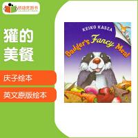 【11.11狂欢钜惠】美国进口日本著名绘本创作家庆子绘本 Badger's Fancy Meal 獾的美餐英文原版经典绘本4-9岁#