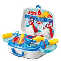 儿童医生玩具套装工具小女孩男宝宝打针仿真医院护士过家家玩具 730A医生手提旅行箱【彩盒装】