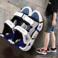 男童凉鞋女童夏季中大童男孩软底宝宝鞋子儿童鞋