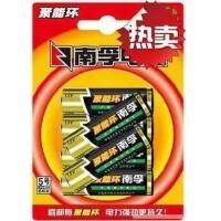 南孚电池 5号碱性电池AA 电池6粒装一卡