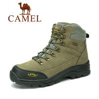 camel骆驼户外登山鞋 秋冬新款 情侣款 防滑男女款高帮登山鞋