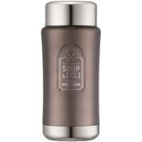 保养焖烧杯大容量保温桶时尚焖粥家庭户外 1L LHC8030 灰色 1L