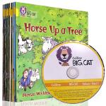 英文原版 collins Big Cat Phonics Yellow大猫自然拼读法3 黄色套装全14册 4-6岁儿童