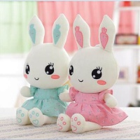 20181111214618036兔子毛绒玩具儿童生日礼物送女友布娃娃可爱长耳兔女生小白兔公仔