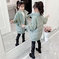 小女孩冬装保暖外套潮2019新款儿童韩版洋气棉袄女童加厚棉衣