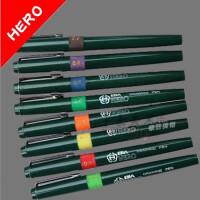 英雄HERO针管笔 绘图针笔 可加墨水针管笔 英雄勾线笔可加墨水