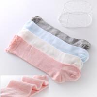 春秋季网眼婴儿长袜子儿童松口袜空调护腿宝宝高筒过膝中筒袜