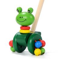 两岁宝宝玩具 拖拉学步玩具车拉车婴儿童手拉拉绳拉线1-2-3岁一岁宝宝男孩小车