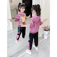 2019秋季新款儿童运动套装女童洋气韩版潮流两件套