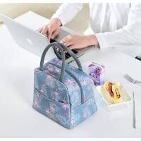 【好货】饭盒袋保温袋便当袋手提包带饭的袋手拎袋帆布袋学生拎袋午餐简约