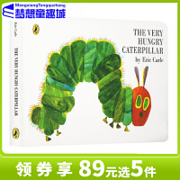 进口英文原版绘本0 3岁 好饿的毛毛虫/饥饿的毛毛虫 The Very Hungry Caterpillar 艾瑞卡尔