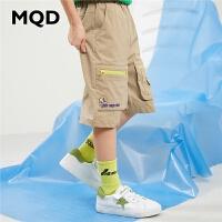 MQD童装男童休闲裤2020夏装新款中大童工装五分裤儿童韩版裤子短