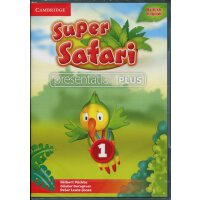 剑桥3-6岁幼儿英语 Super Safari Level 1 Presentation Plus DVD-ROM 教学白板软件