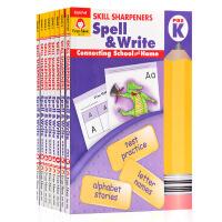 美国加州教材技能卷笔刀系列 共8册合售 英文原版 Skill Sharpeners Spell & Write 小学生