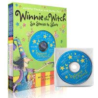 Winnie the Witch Six Stories to Share 女巫温妮6个分享故事(2张CD)吴敏兰绘本123推荐 一个关于友谊和爱的童话 天马行空的情节开创无限想像