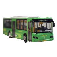南京雅高Argos公交汽车模型巴士2路客车仿真模型涂装改装定制DIY版合金公交汽车模型*收藏