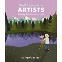 预订Mindful Thoughts for Artists:Finding flow & creating calm