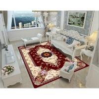 地毯客厅中式客厅茶几毯简约现代北欧式满铺房间地毯可水机洗