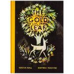 The Gold Leaf 金黄的树叶 英文原版儿童艺术绘本 3-6岁