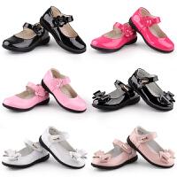 公主鞋女童鞋子皮鞋�涡��和��底����春秋春季平底鞋